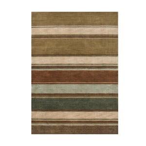 Vlněný koberec Country Green, 140x200 cm