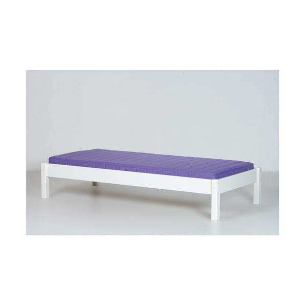 Fehér ülőpad keret emeletes gyerekágyhoz, 70 x 160 cm - Manis-h