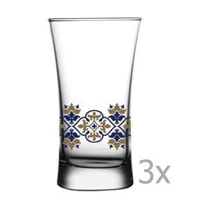Sada 3 sklenic Paşabahçe Vintage, 135ml