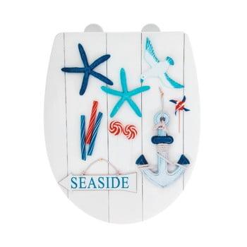 Capac WC cu finisaj lucios Wenko Seaside, 45 x 36,5 cm imagine