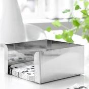 Cutie argintie pentru șervețele Steel Function, 17,5 cm