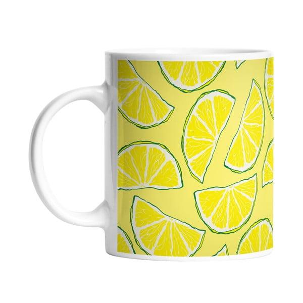Keramický hrnek Sour Lemon, 330 ml