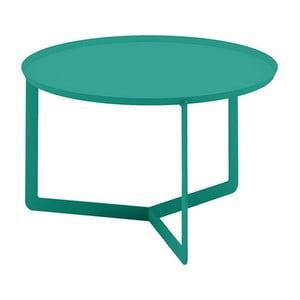 Zelený příruční stolek MEME Design Round, Ø60cm