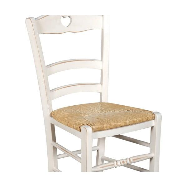 Židle Coeur White