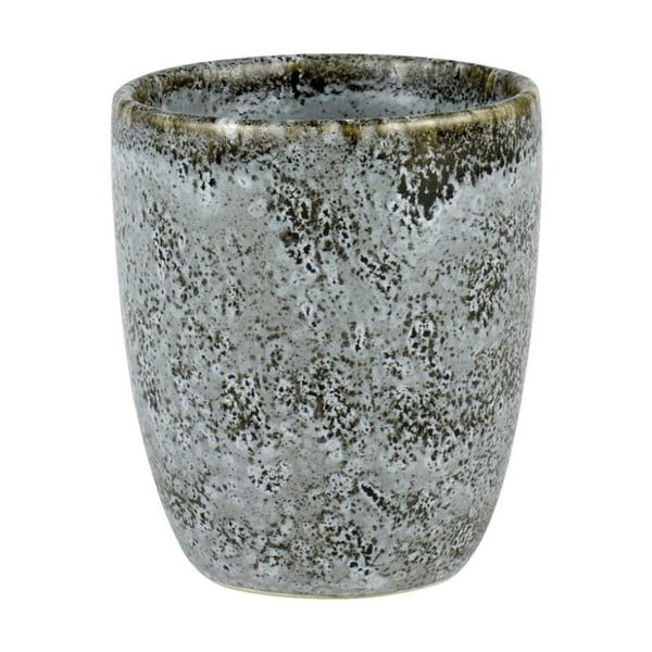 Sivý kameninový hrnček bez ucha na espresso Bitz Mensa