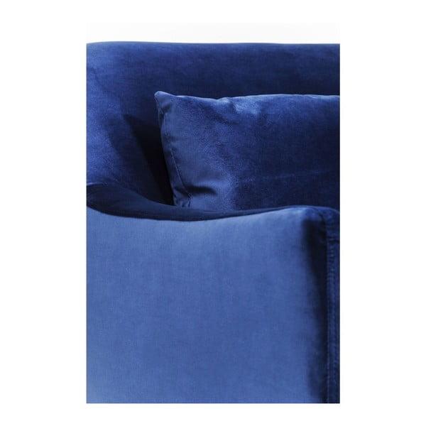Modré křeslo Kare Design Proud