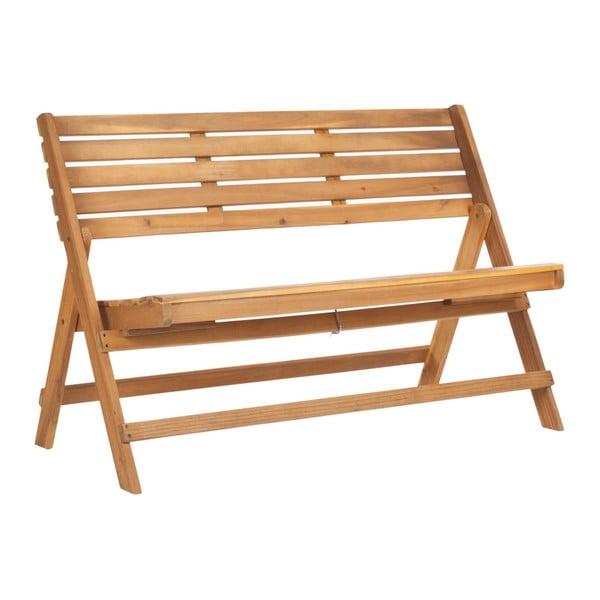 Ferrat barna kerti ülőpad akácfából - Safavieh