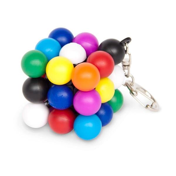 Breloc chei puzzle RecentToys Mini Molecube