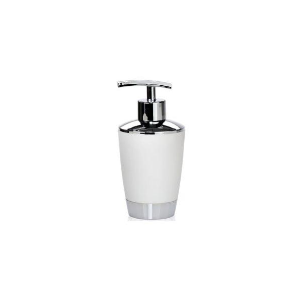 Zásobník na mýdlo Simple, bílý
