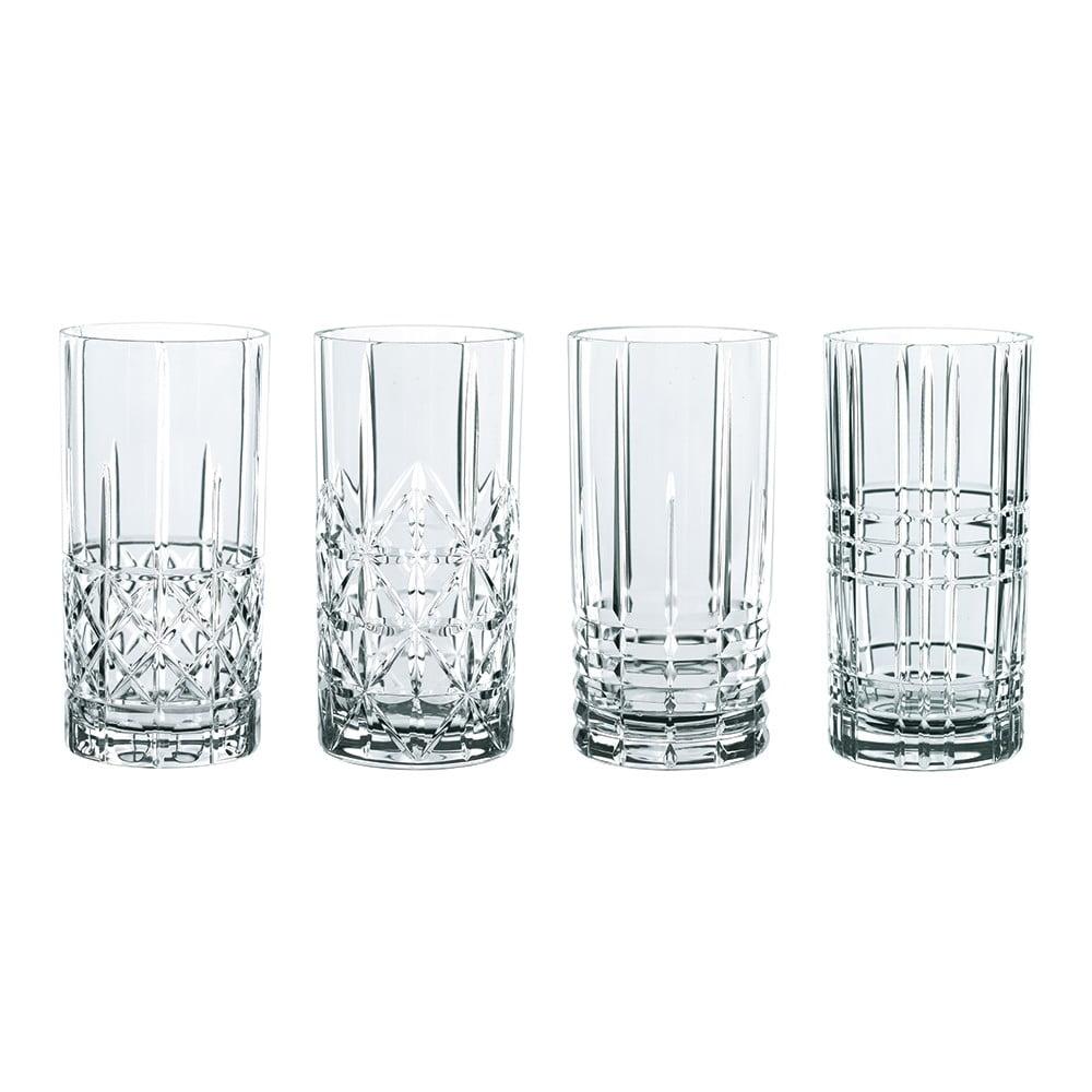 Sada 4 sklenic z křišťálového skla Nachtmann Highlands, 445 ml