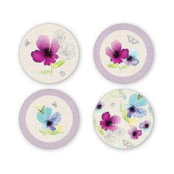 Set 4 coastere din porţelan Cooksmart Chatsworth Floral imagine