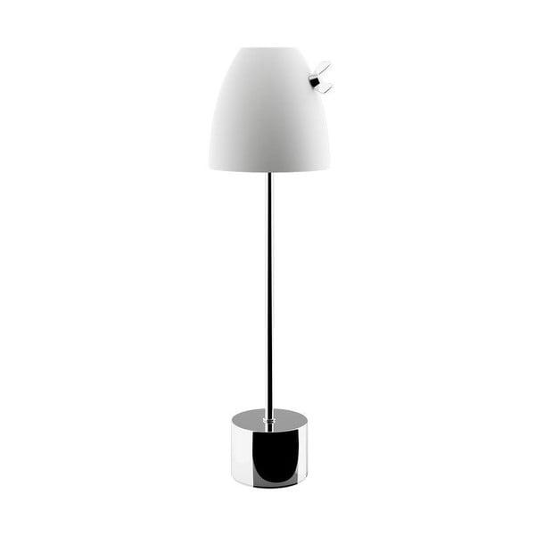Stolní lampa Curv, chrom