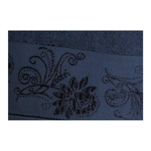 Sada 2 osušek Selen Dark Blue, 70x140 cm