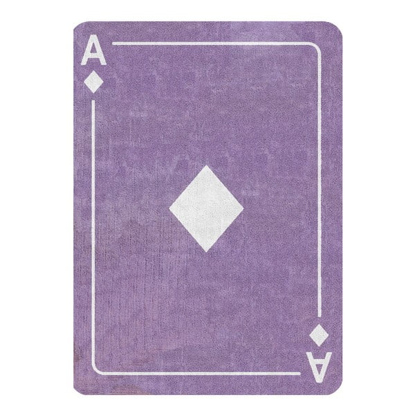 Koberec Diamante 160x120 cm, lila
