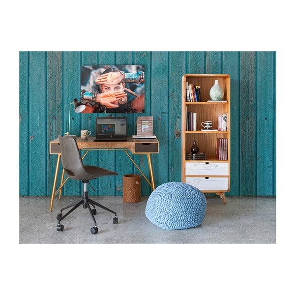 Šedá kancelářská židle Santiago Pons Avedis