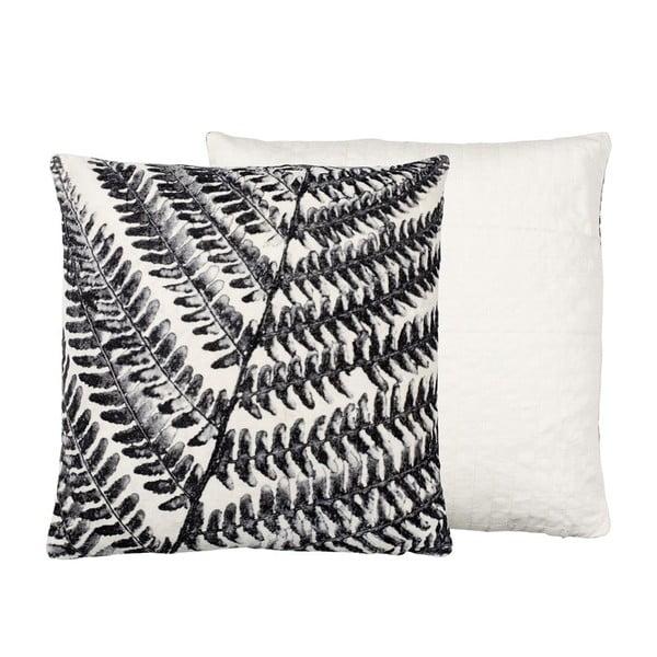 Polštář s náplní Summer Fern Grey, 50x50 cm