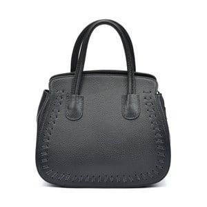 Černá kožená kabelka Roberta M Amadora