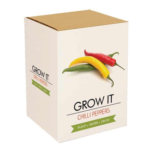 Set grădinărit, semințe ardei iute Gift Republic Chilli Peppers