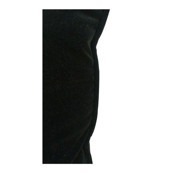 Černý bavlněný polštář PT LIVING, 60 x 60 cm