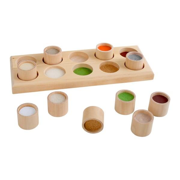 Jucărie motrică din lemn Legler Touch Memo