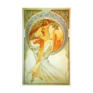 Obraz Poetry od Alfonse Muchy, 30x50 cm