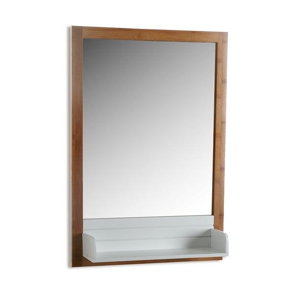 Nástěnné zrcadlo s poličkou Versa