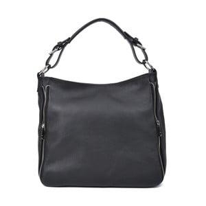 Černá kožená kabelka Roberta M Munico