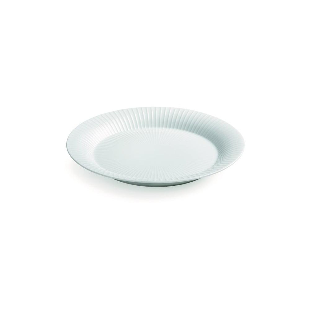 Bílý porcelánový talíř Kähler Design Hammershoi, ⌀ 19 cm Kähler Design