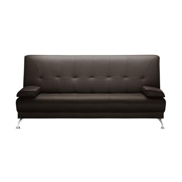 Brązowa rozkładana sofa Corinne Cobson Midnight