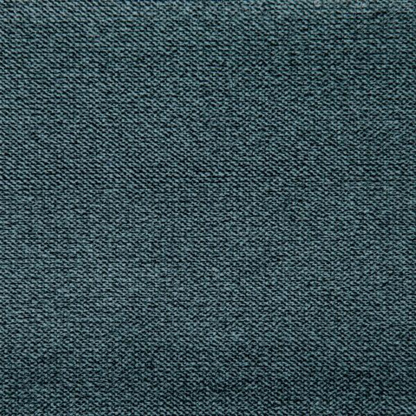 Modrá 3místná pohovka s černými nohami Vivonita Johan