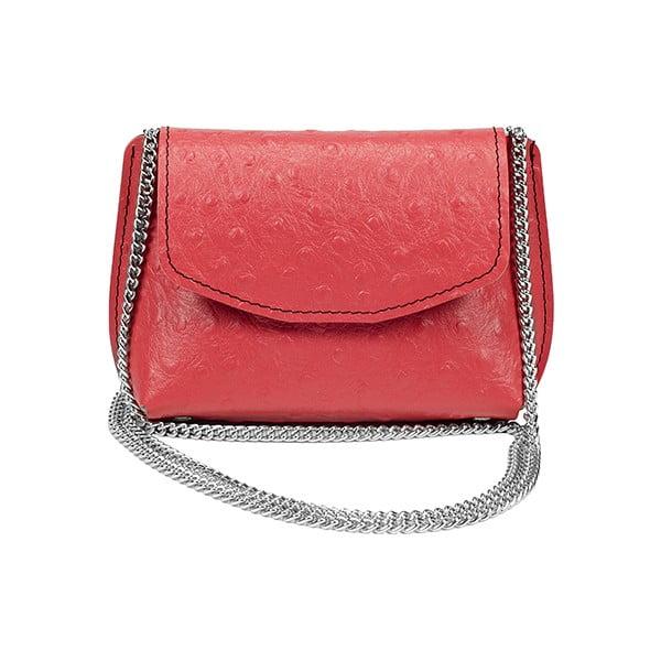 Kožená kabelka Milly Strawberry