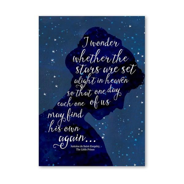 Plakát od Mia Charro - I Wonder