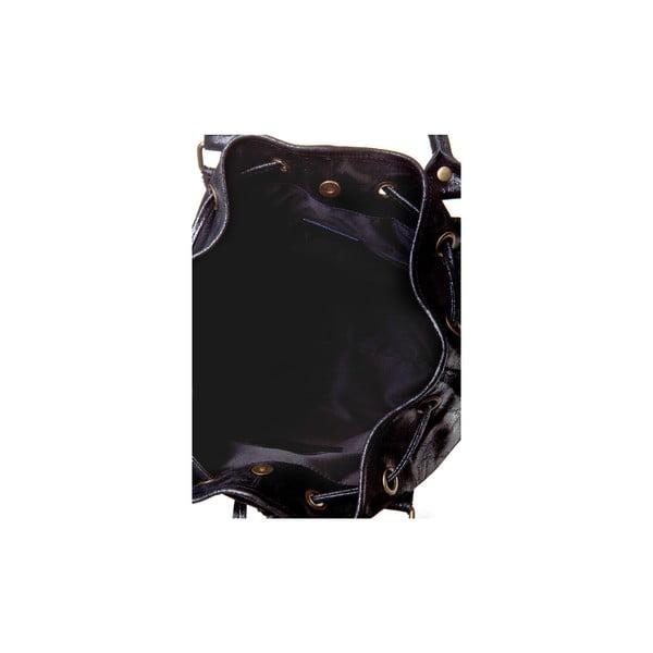 Kožená kabelka Massimo Castelli 6893 Black