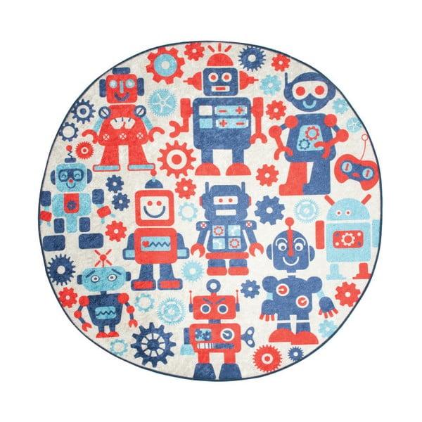 Dywan dla dzieci Robot, ⌀ 140 cm