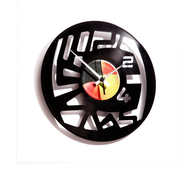 Vinylové hodiny Numbers 2