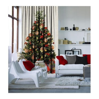 Draperie Christmas Tree, 140 x 260 cm imagine