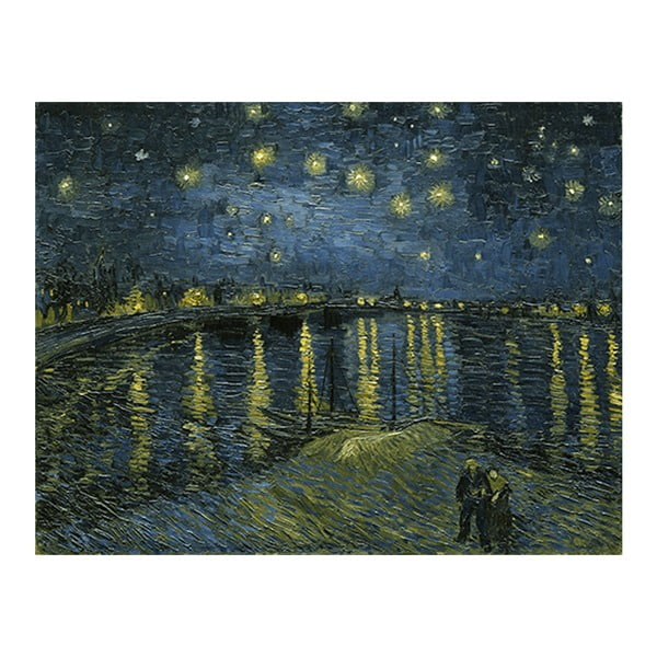 Obraz Vincenta van Gogha - Starry Night 2, 50x40 cm