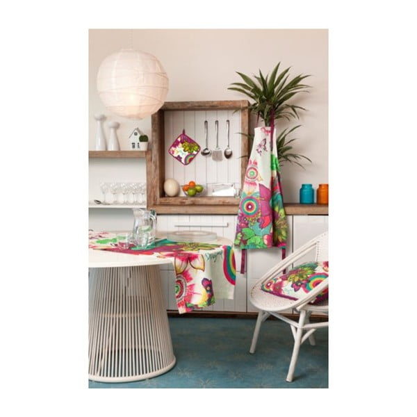 DESIGUAL Běhoun na stůl Tropical, 50x150 cm
