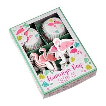 Set pentru decorat brioșe Rex London Flamingo Bay de la Rex London