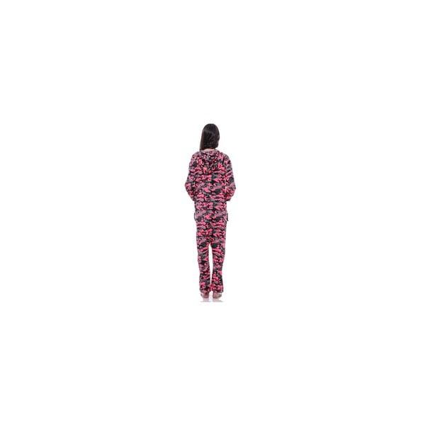 Unisex domácí overal Streetfly Thin Pink Army, vel. M