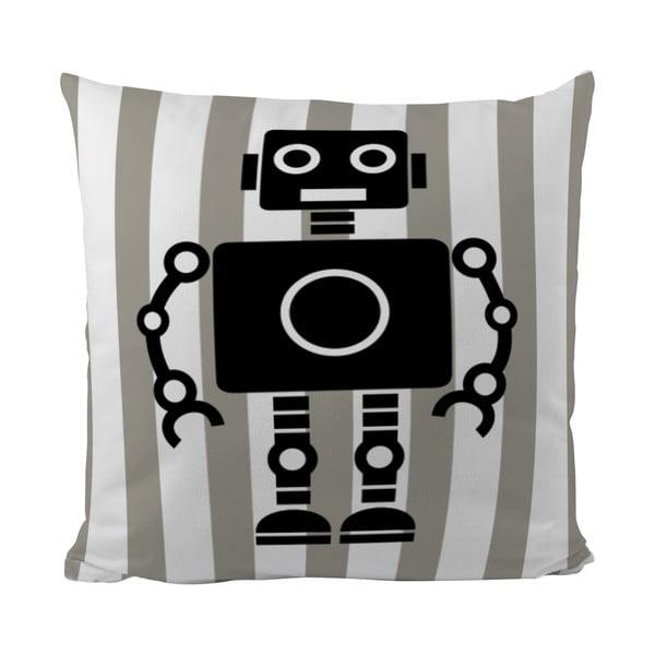 Polštářek Black Shake My Robotic Friend, 50x50 cm