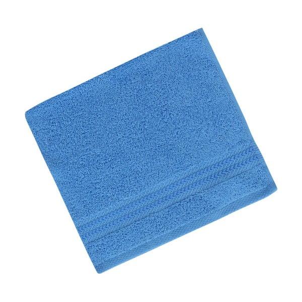 Niebieski ręcznik z czystej bawełny Sky, 30x50 cm