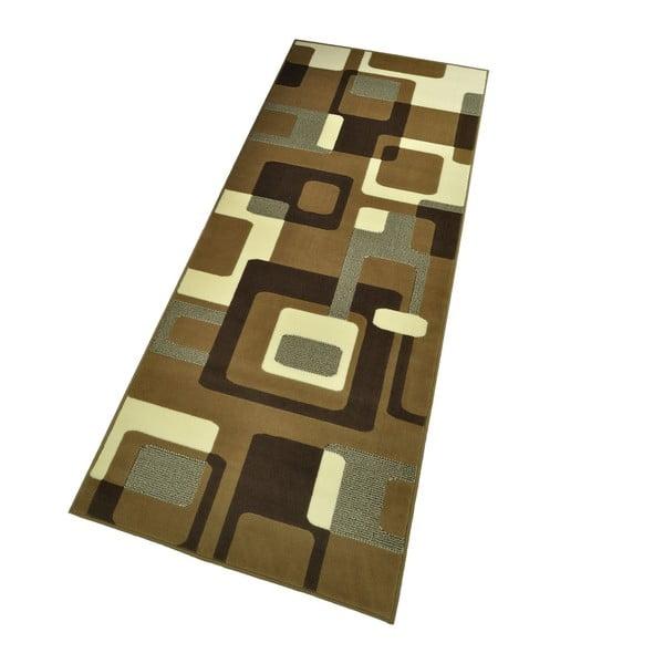 Hnědý koberec Hanse Home Hamla Retro, 120x170cm