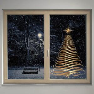 Elektrostatická samolepka Zlatý strom