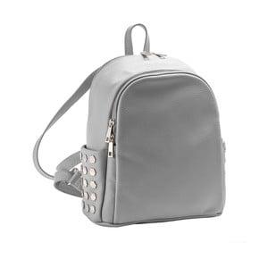 Světle šedý batoh z pravé kůže Andrea Cardone Antique Pikalo