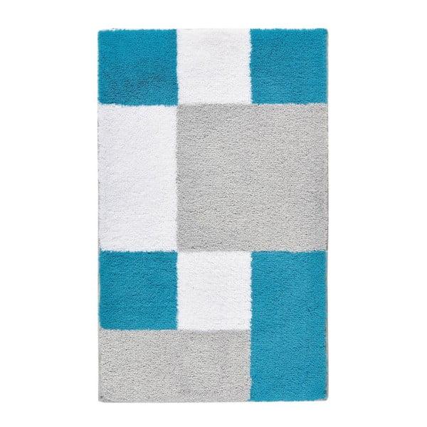 Koupelnová předložka Zamba Blue, 60x100 cm