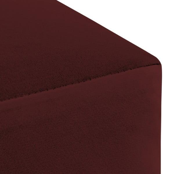 Burgundově červený puf Vivonita Scarlet