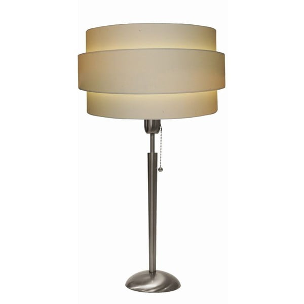 Stolní lampa Revival Satin/Cream