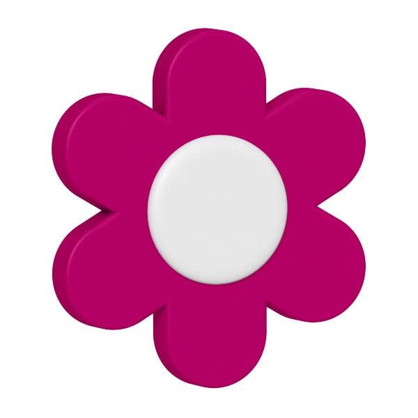 Dekorativní klipsy na květináč Flower Pink, 2 ks