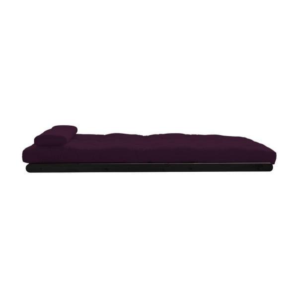 Dvoumístná variabilní lenoška Karup Figo Wenge/Purple Plum